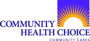 The Logo for Community Health Choice with a sun